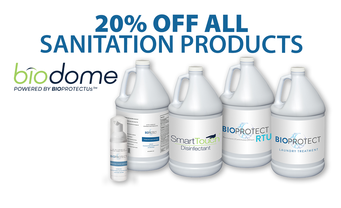 Biodome Sanitation Products